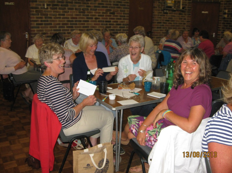County Quiz night August 2013