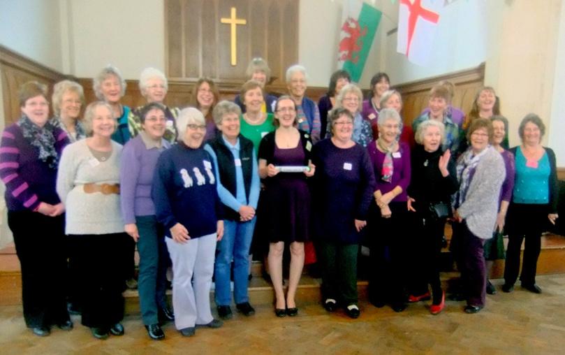 Bognor Regis WI with the Centenary Baton