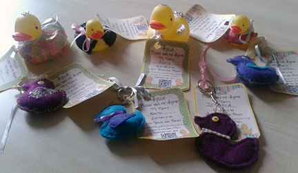 Ducks ready for release