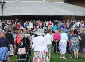 Thousands of WI ladies enjoy the Garden Party