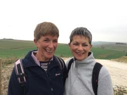 Jan & her sister Jacky