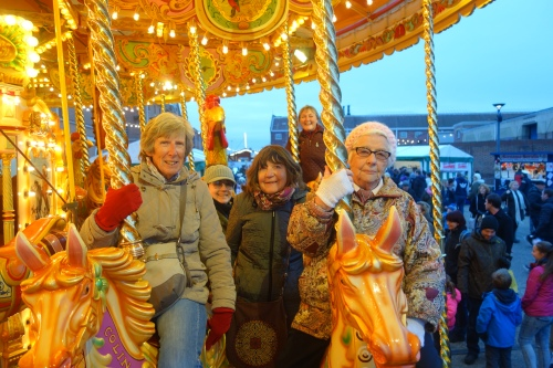 Carousel - photo by Sheila Farmer