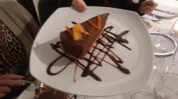 Dark Chocolate and Orange Torte