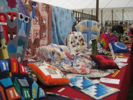 South of England Show Patchwork Class exhibits